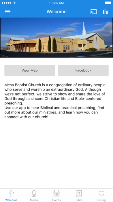 Mesa Baptist Church screenshot 1