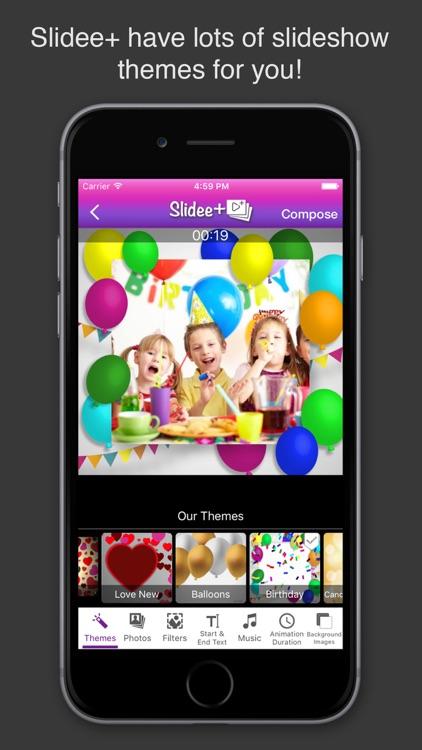 Slidee+ Slideshow Video Maker & Editor with Music screenshot-3