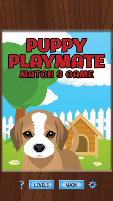 Puppy Playmate Match 3 Game By Mike Hempfling Puzzle Games