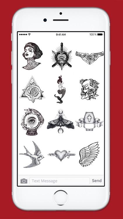 Retro Tattoo Art Sticker Pack