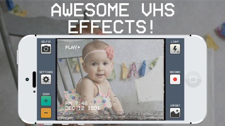 RAD VHS Camera Effects - Retro Video Camcorder app image