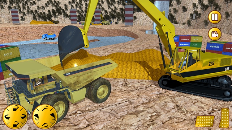 Gold Miner Real Rush Digger: Truck Drive 3D screenshot-4