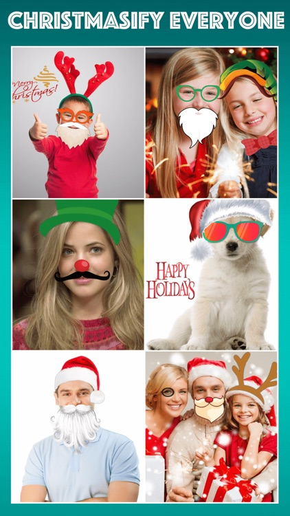 Christmas Photo Effects & Pic Editor - Santa & Elf