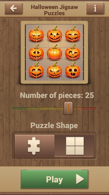 Halloween Jigsaw Puzzles Game