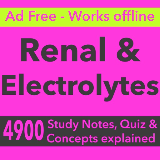 Renal & Electrolytes Exam Review & Test Bank 2017