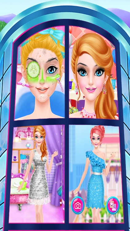 pink princess makeover games for girls screenshot-3