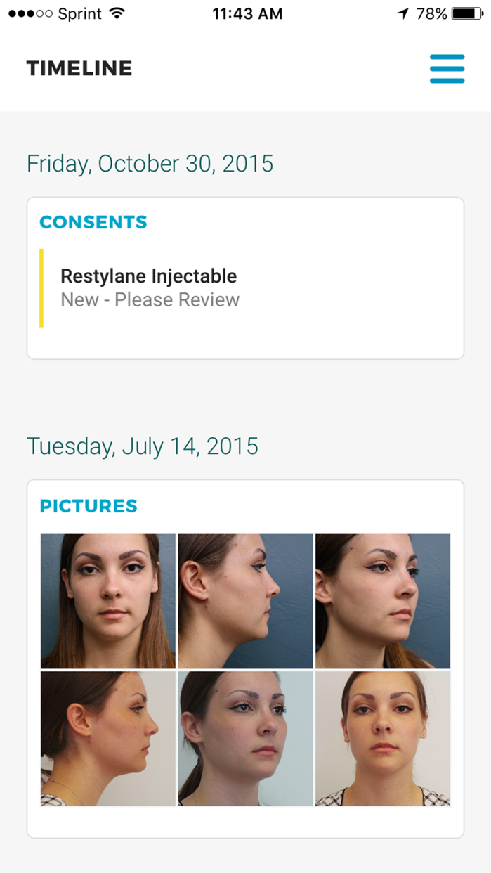 myTouchMD - for Patients Screenshot