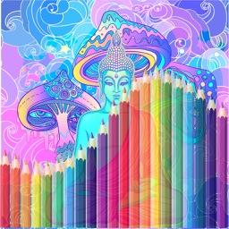 ZenArt -Zen and the Art of Colouring, Meditation
