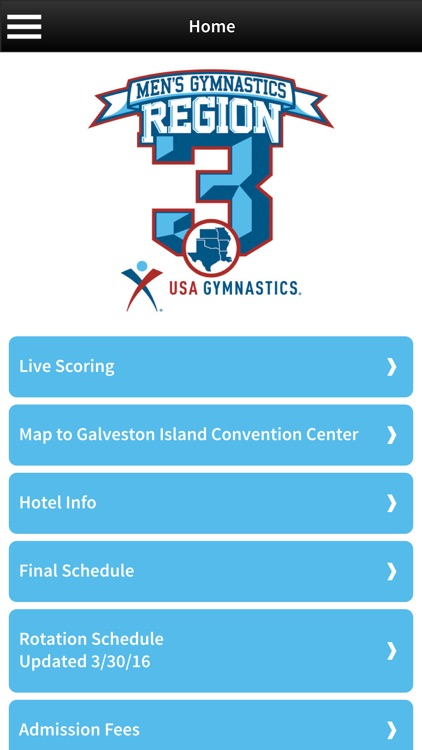 Region 3 Men's Gymnastics Championship