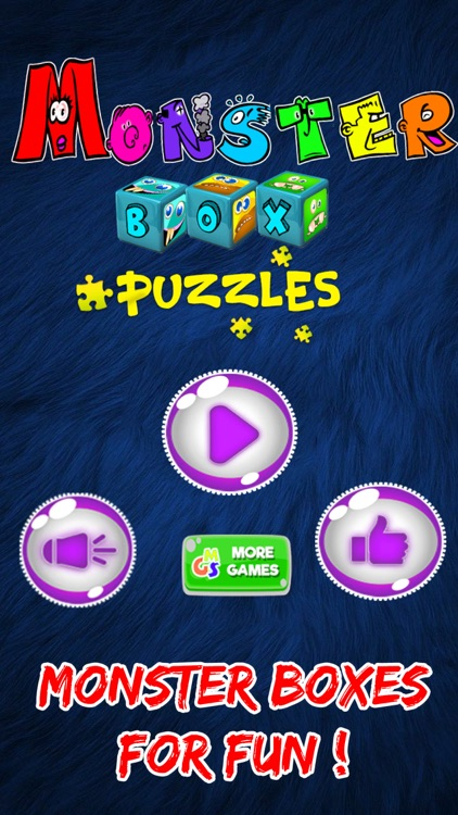 Monster Box Puzzles