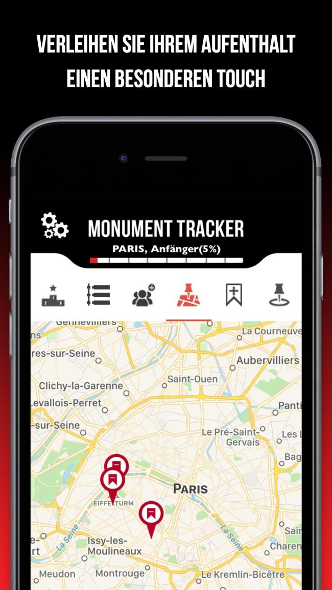 Grasse Guide Monument Tracker Screenshot