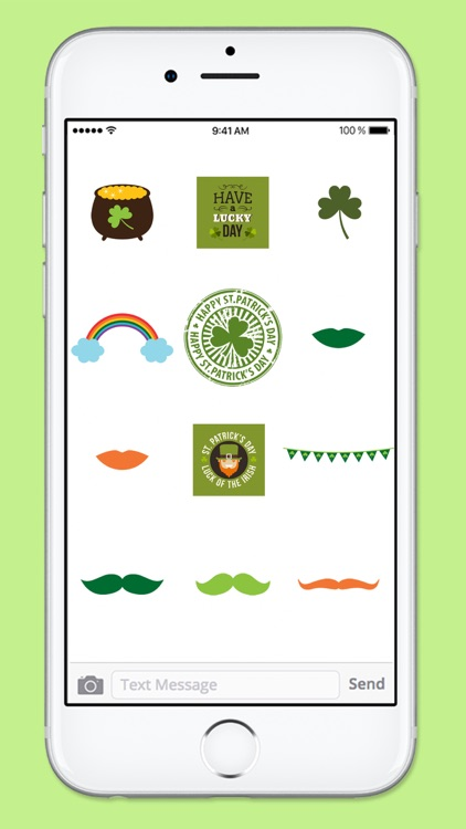 St Pattys Day Stamps Sticker Pack screenshot-3
