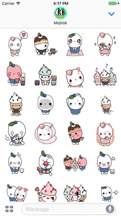 DALCUBI Animated Stickers