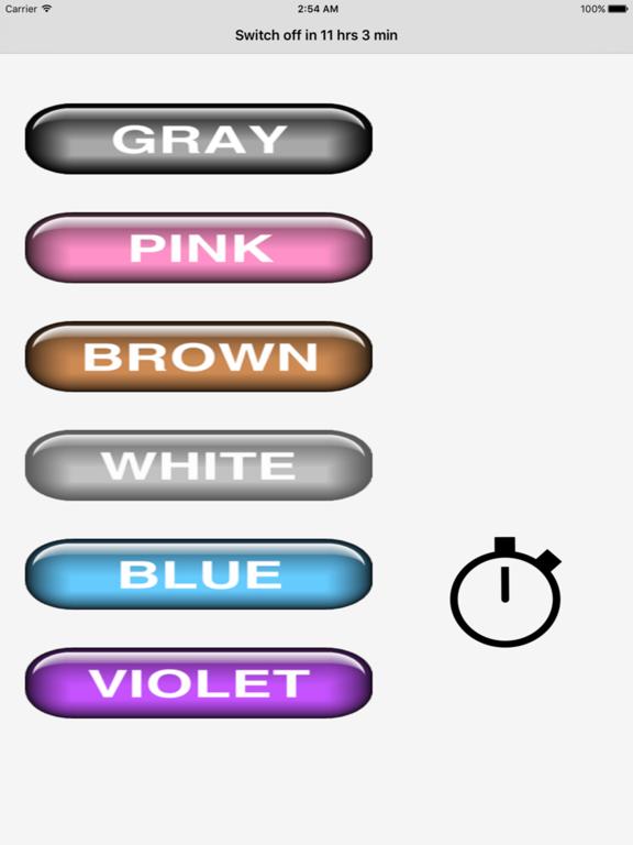 Noise (gray, pink, brown, white, blue, violet) screenshot 3