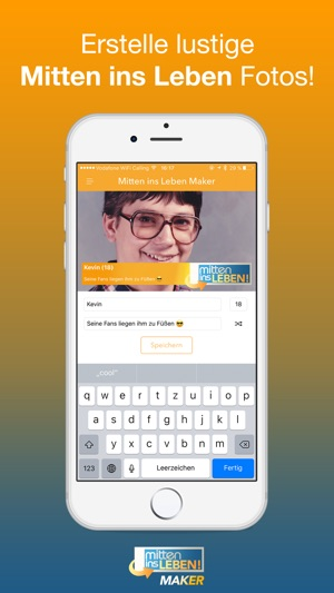 Mitten Ins Leben Maker Banner Generator Im App Store