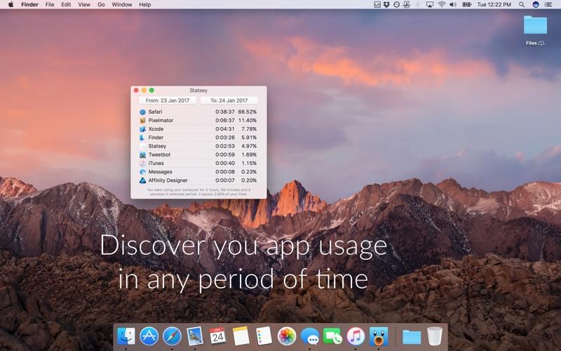 Statsey: app usage statistics Screenshots