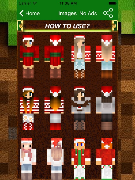 New Best Christmas Skins PRO For Minecraft PE PC App Price Drops - Skins para minecraft no pc