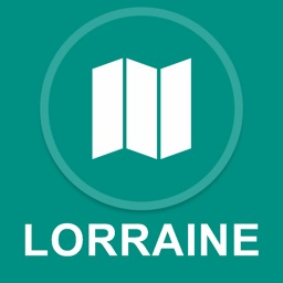 Lorraine, France : Offline GPS Navigation