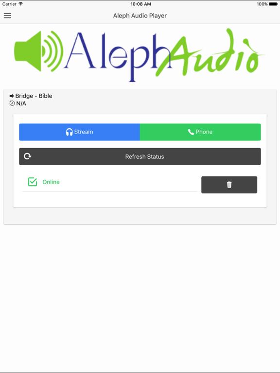 Aleph Audio Player - Free screenshot 4