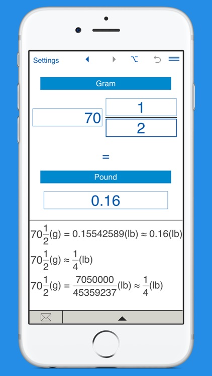 Pounds to grams and g to lbs weight converter screenshot-3