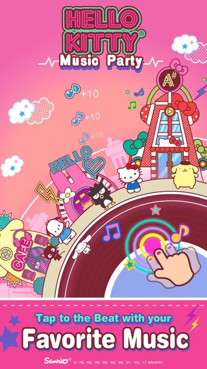 Hello Kitty Music Party - Kawaii and Cute!