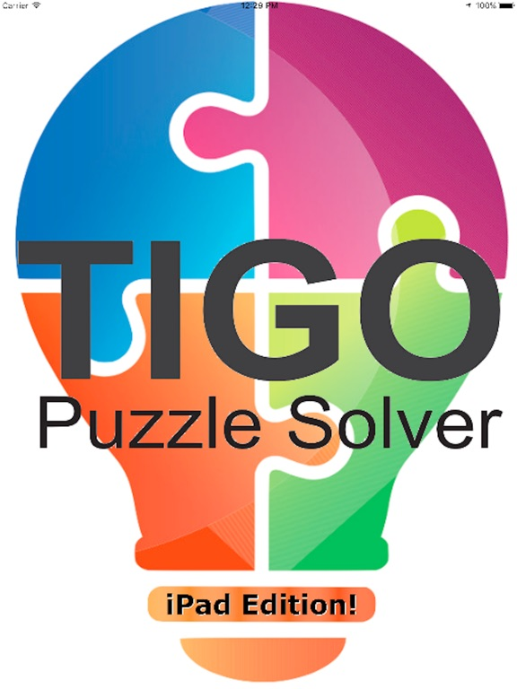 tigo puzzle solver for the ipad app price drops