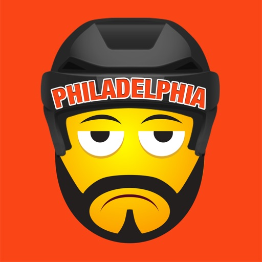 Philadelphia Hockey Stickers & Emojis