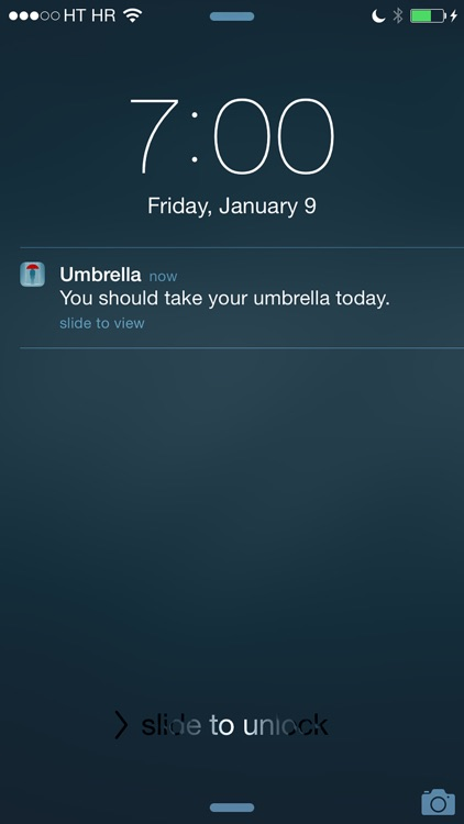Umbrella - Weather forecast