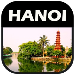 Hanoi, Vietnam Offline Travel Map Guide