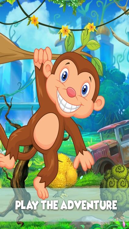 Monkey Runner : crazy run  in jungle for banana