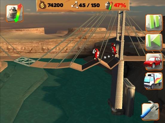 Скачать игру Bridge Constructor Playground!