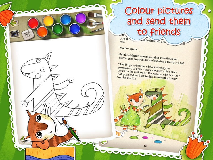 Martha: Read, Play and Draw screenshot-3
