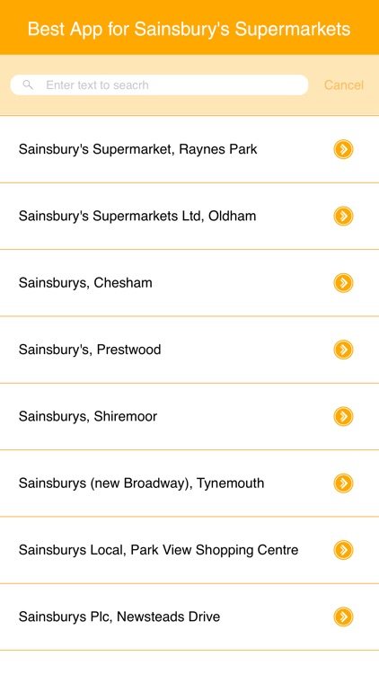 Best App for Sainsbury's Supermarkets