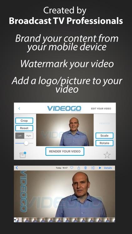 Logo2Go - Logo Burner & Video Watermark screenshot-0