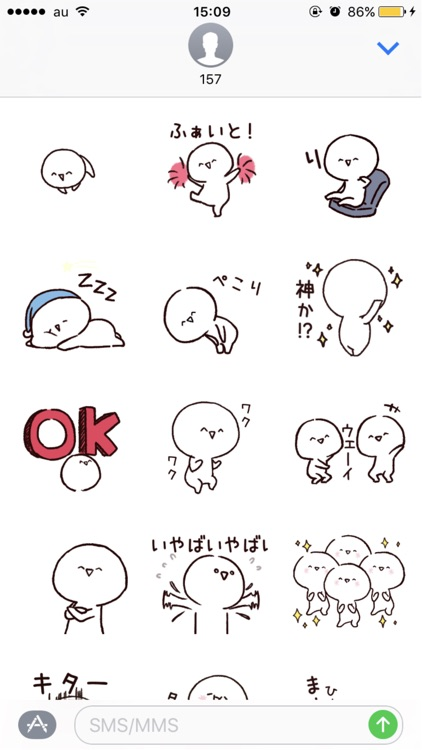 Mr. Emoticon Sticker Pack