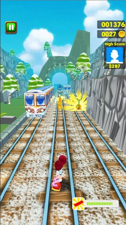 Frozen Princess Subway Surf Run