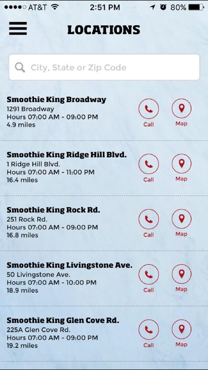 Smoothie King Rewards screenshot-3