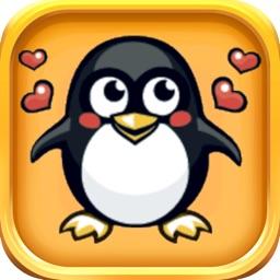 Penguin Stickers - 50 Cute Penguin Stickers Pack
