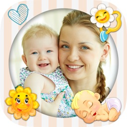 Baby photo frames for kids – Photo editor