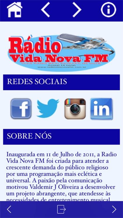 Radio Vida Nova Fm app image