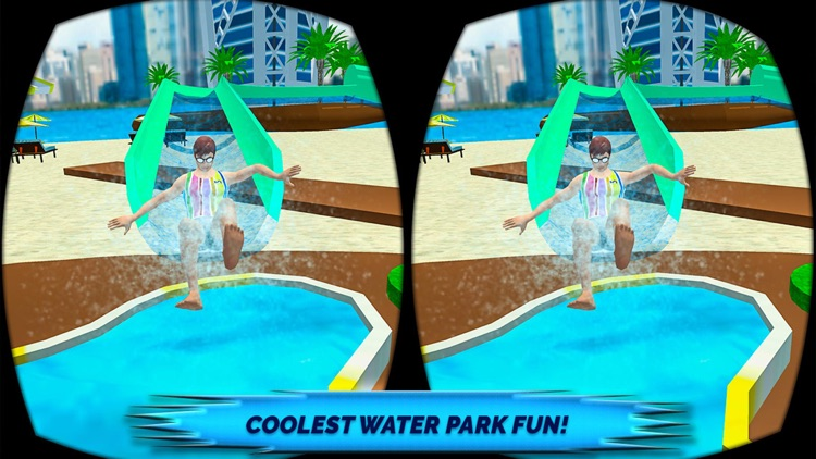 VR Beach Water Sliding - Water stunt & ride Pro screenshot-4