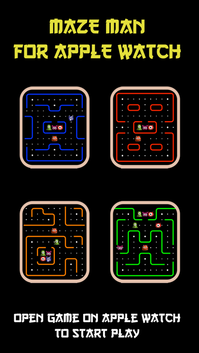 Maze Man For Watch screenshot 1