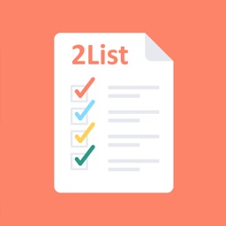 2List - TO-DO list & TASK manager with reminder