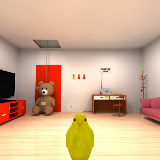 Escape Game-My girlfriends room
