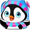 Arctic Penguin Monty in the Frozen Ice Cream Club Hunt Free Game