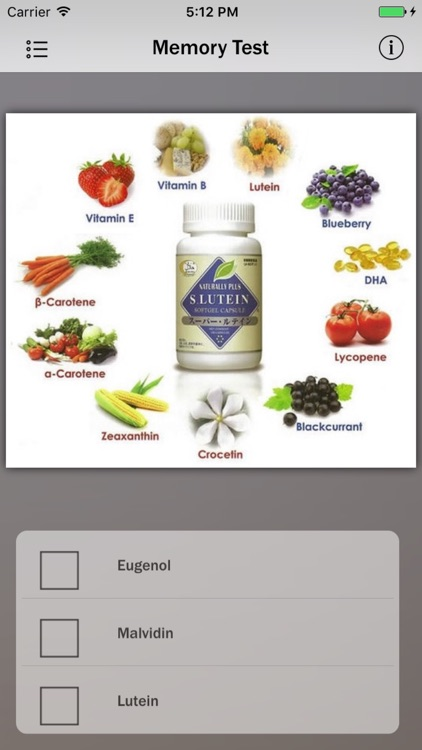 List of Antioxidants Info! screenshot-3