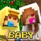 ~FREE BABY SKINS allows you to change your skin to a cute baby skin for Minecraft PE And PC