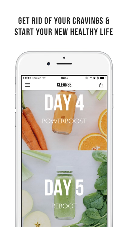 FIVESEC CLEANSE - 5 day juice cleanse program screenshot-4