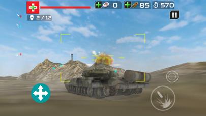 Tank Crusade T-90 : Battle Tank Simulator screenshot four
