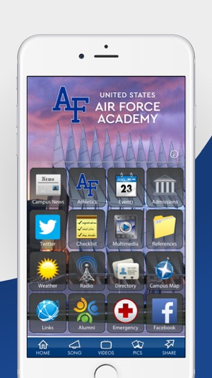 U. S. Air Force Academy on the App Store United States Air Force Academy Campus Map on american university campus, arkansas state university campus, united states army war college campus, maine maritime academy campus, northwestern university campus, texas tech university campus, howard university campus, rice university campus, northern illinois university campus, princeton university campus, university of chicago campus, ohio university campus, university of texas at austin campus, davidson college campus, university of rochester campus, west point academy campus,